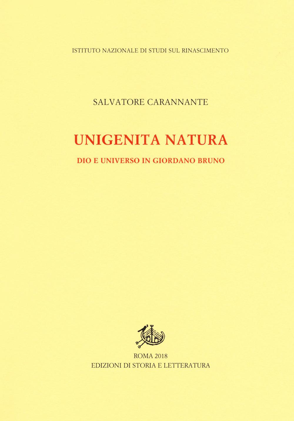 Unigenita natura