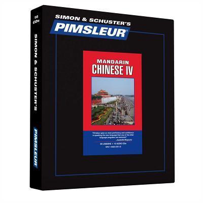 Pimsleur Mandarin Chinese IV