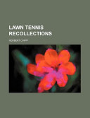 Lawn Tennis Recollections