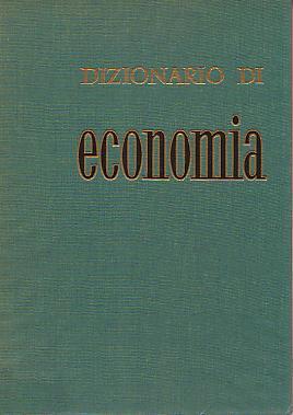 Dizionario di econom...