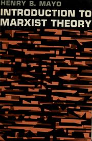 Introduction to Marxist Theory