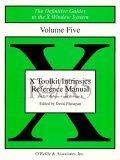 X Toolkit Intrinsics Ref Man R5