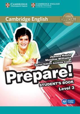 Cambridge English prepare! Level 3. Student's book. Per le Scuole superiori. Con espansione online