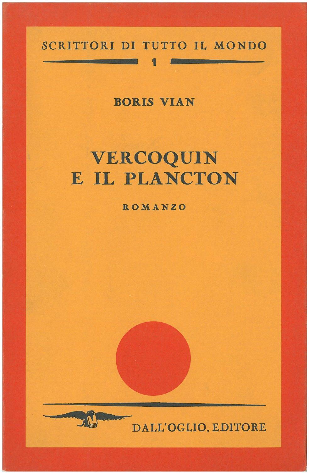 Vercoquin e il plancton