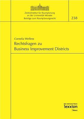 Rechtsfragen Zu Business Improvement Districts