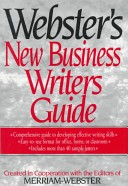 Webster's new business writers guide