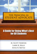 The Principal As Student Advocate