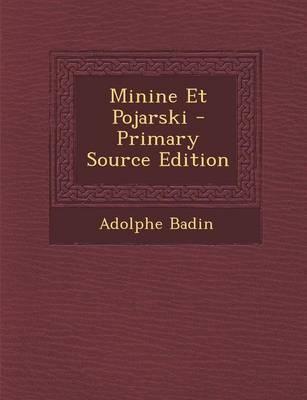 Minine Et Pojarski