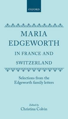 Maria Edgeworth in F...
