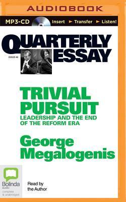 Quarterly Essay 40