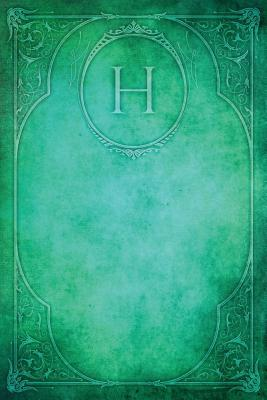 Monogram H Blank Boo...