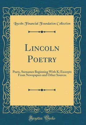Lincoln Poetry