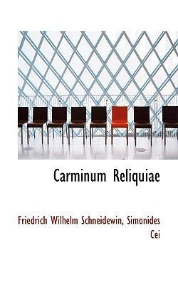 Carminum Reliquiae