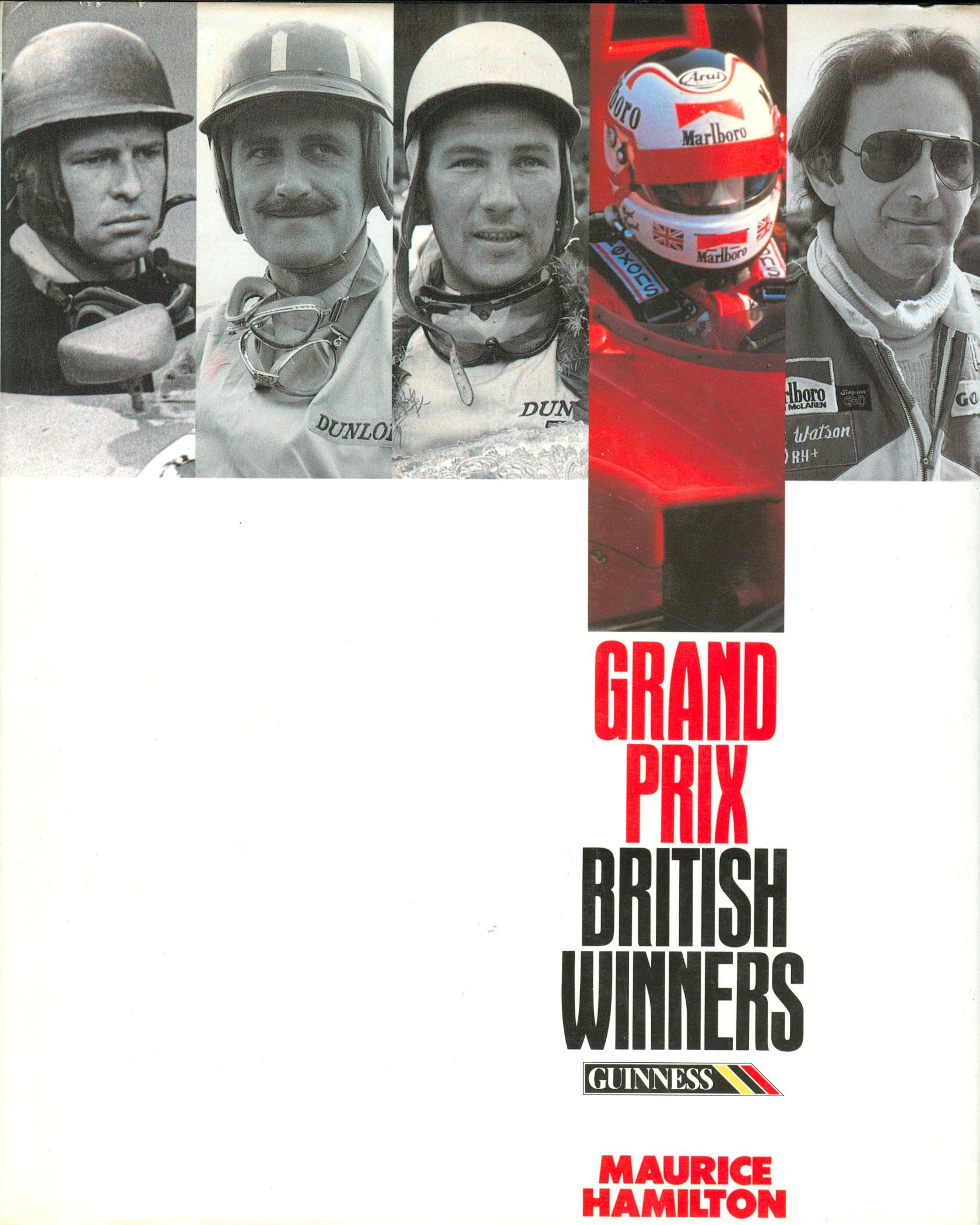 Grand Prix British Winners
