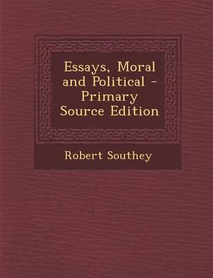 Essays, Moral and Political