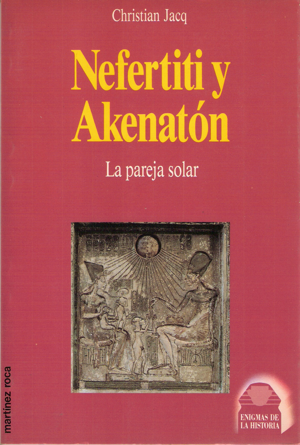 Nefertiti y Akenató...