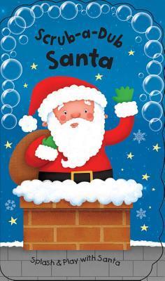 Scrub-a-Dub Santa