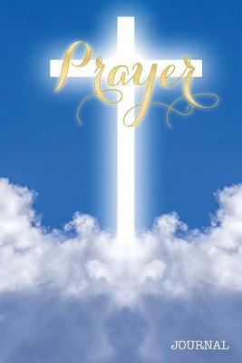 Prayer Journal Glowing Cross Heaven Clouds