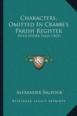 Characters, Omitted in Crabbea Acentsacentsa A-Acentsa Acentss Parish Register
