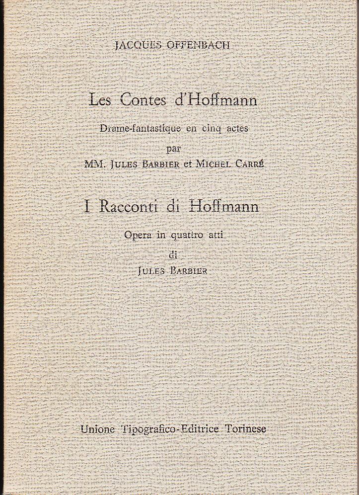 I racconti di Hoffma...