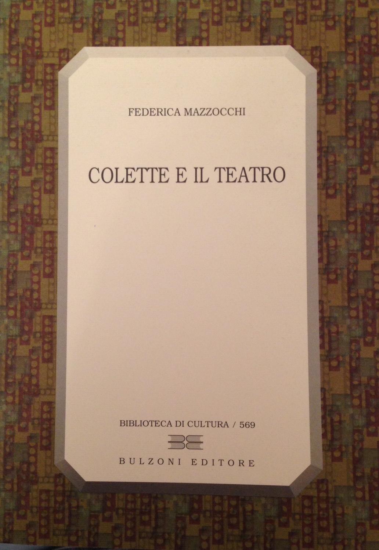 Colette e il teatro
