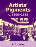 Artists' pigments c.1600-1835