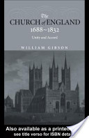 The Church of England 1688-1832
