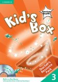 Kid's Box American English Level 3 Teacher's Resource Pack with Audio CD