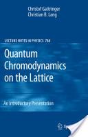 Quantum Chromodynamics on the Lattice
