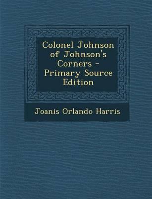 Colonel Johnson of Johnson's Corners