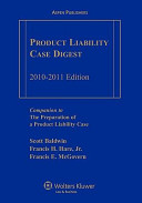 Product Liability Case Digest 2010-2011 Edition