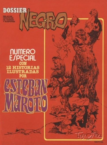 Dossier Negro Especial Esteban Maroto