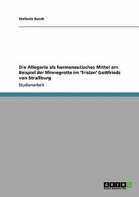 Die Allegorie als hermeneutisches Mittel am Beispiel der Minnegrotte im 'Tristan' Gottfrieds von Straßburg