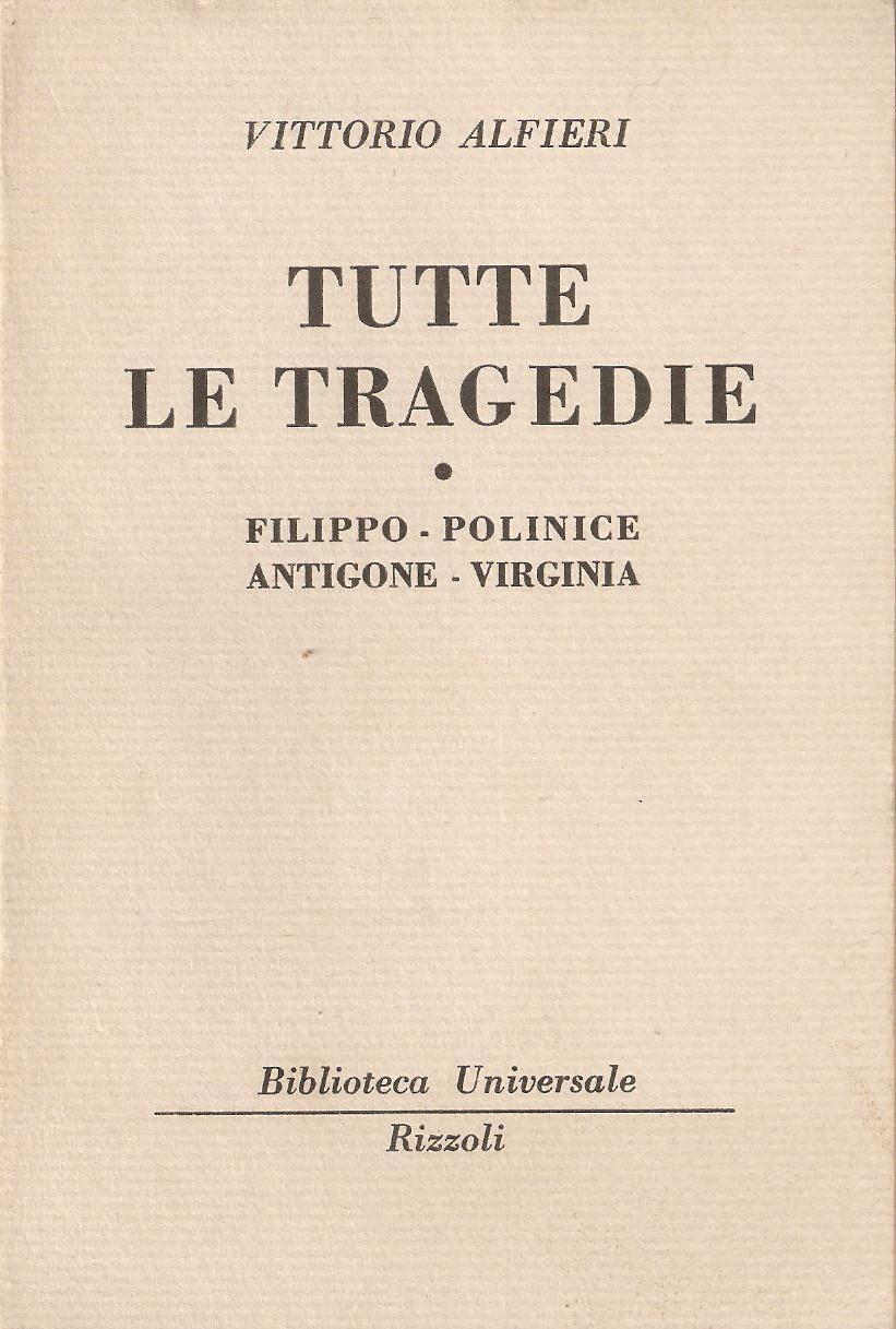 Tutte le tragedie - Vol. 1