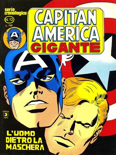 Capitan America Gigante n. 12
