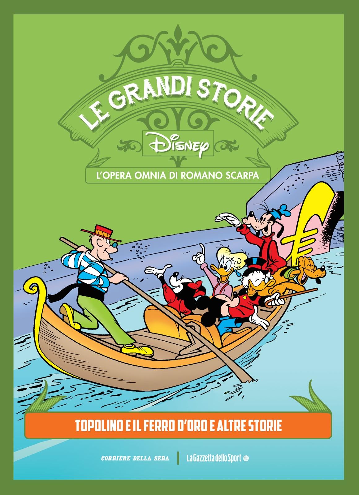 Le grandi storie Disney - L'opera omnia di Romano Scarpa vol. 39