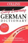 Collins Easy Learning German Dictionary: Colour Edition