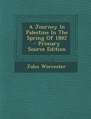 A Journey in Palesti...