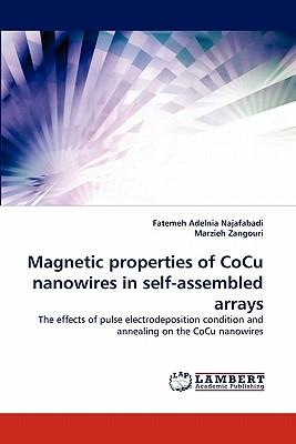 Magnetic properties of CoCu nanowires in self-assembled arrays