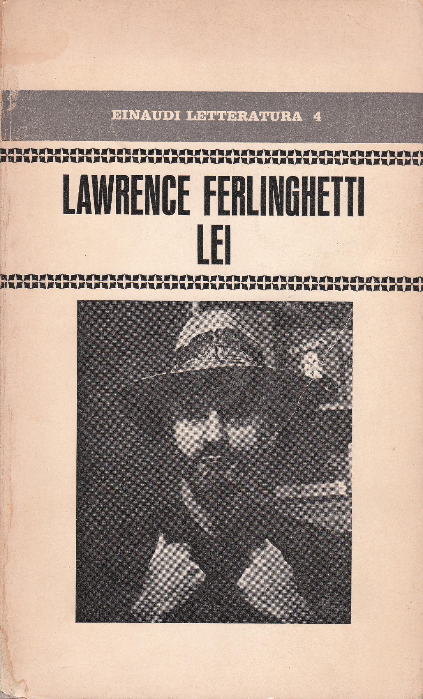 0 Citazioni e frasi dal libro Lei di Lawrence Ferlinghetti - Anobii