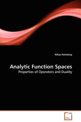 Analytic Function Spaces