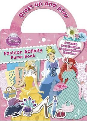 Disney Princess Fashion Activity Purse Book