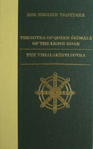 The Sutra of Queen Srimala Of The Lion's Roar