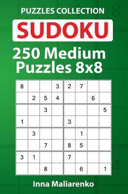 Sudoku - 250 Medium Puzzles 8x8