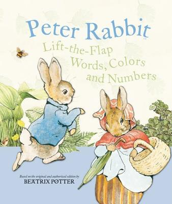 US Peter Rabbit Lift the Flap - Words, Colours and Numbers