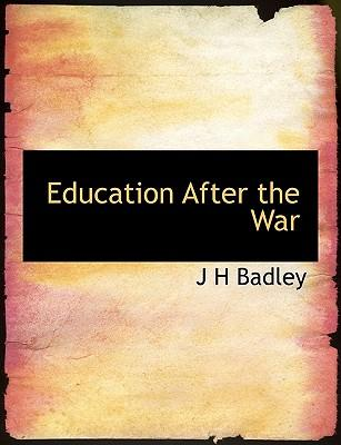Education After the War