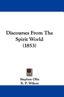 Discourses from the Spirit World (1853)