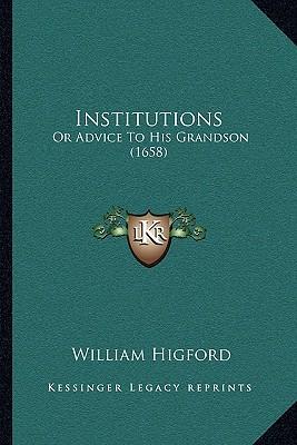 Institutions Institutions
