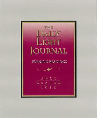 Daily Light Journal Evening Readings - Burgundy