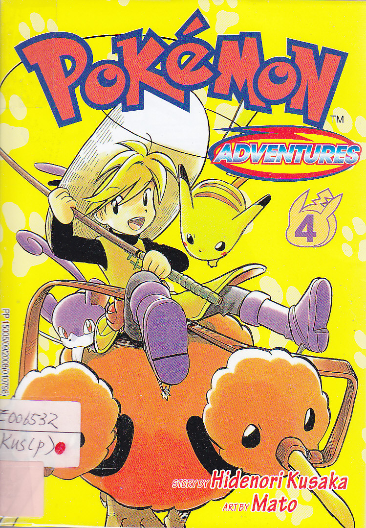Pokemon Adventures 4